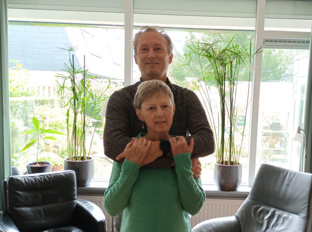 Parkinson 1000 km in 30 dagen hardlopen Geert van Nispen